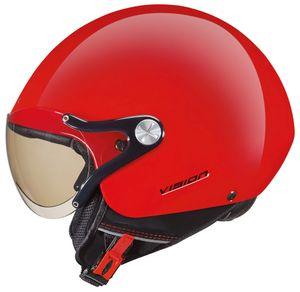 Nexx SX.60 Vision Plus Jethelm Grösse: L (59/60), Farbe: Rot