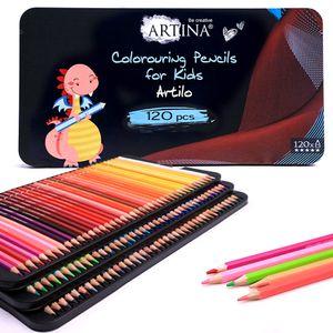 Artina Kinder Buntstifte Set Holzstifte Artilo, Setgröße:120