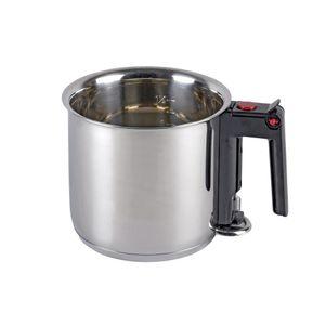 ELO 99414 'Meine Küche' Simmertopf / Milchtopf aus Edelstahl mit Sichtfenster 1,5 Liter Ø 16cm, silber