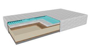 Latexmatratze, Amalfi (160x200cm) H1-H3 sehr weich-mittelhart, Matratze mit Ocean Blue Latexgel und Thermoplastischer Schaum