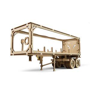Ugears - Holz Modellbau Truck Trailer Anhänger LKW VM-03 138 Teile