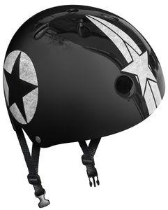 STAMP Black Star Skate Helm mit Einstellrad - Größe 54-60 cm