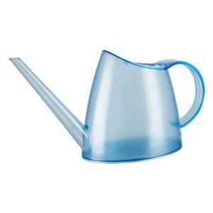 Emsa Fuchsia Rauchglas Gießkanne Gieß Kanne Blumengießer Transparent Blau 1.5 L