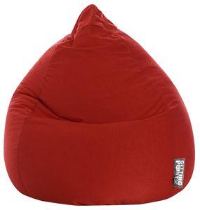 Sitzsack BeanBag Easy XL 110 x 70 cm,  Rot Bbxl
