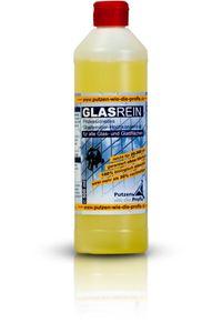 Putzen wie die Profis Profi-Glasreiniger Konzentrat, 500 ml | Fensterreiniger mit Lotus-ähnlichem Effekt | für Glatt & Glasflächen | Tierversuchsfrei und umweltfreundlich