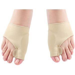 1Paar Zehenspreizer Bandage Elastische Hallux Valgus Einstellbar Orthopädische Daumen Bunion Korrektur Zehenschutzer Fußpflege