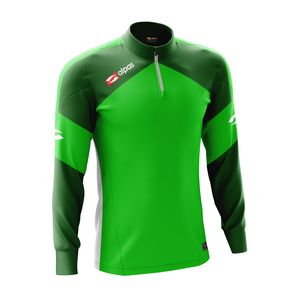 alpas Sweatshirt Dynamic Grün Gr. 3XL Trainingsjacke Sportjacke Joggingjacke