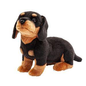Uni-Toys - Dackel - 27 cm (Länge) - Plüsch-Hund - Plüschtier, Kuscheltier