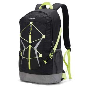 Soarpop Ultraleichter Outdoor-Sport Rucksack Wander Rucksack Trekkingrucksack für Camping Klettern Radfahren 30L (BB4510MCG)