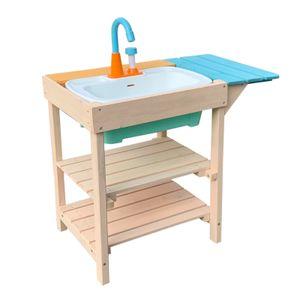 Matschküche Outdoor Spielküche Garten Kinderküche Holz Gartenküche Kind
