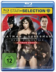 Batman vs Superman: Dawn of Justice BluRay