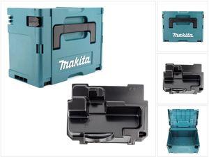 Makita MAKPAC 3 Systemkoffer + Einlage für Makita BSS / DSS 610
