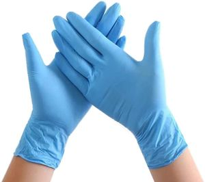 Einweghandschuhe Handschuhe Nitrilhandschuhe Gummilatexfreie medizinische Nitrilhandschuhe 100 Stück