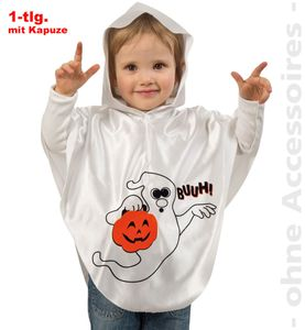 Kinder Kostüm Geist Gespenst Halloween Karneval Gr.98