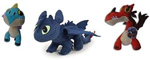 Dragons 208730 - Plüsch Sortiment Gr. 3