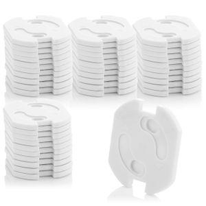 deleyCON 40x Kindersicherung für Steckdosen und Steckdosenleisten Kinderschutz Steckdosenschutz Steckdosensicherung Drehmechanik Baby Kleinkinder