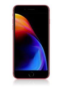 Apple iPhone 8 Plus mit 256 GB in red