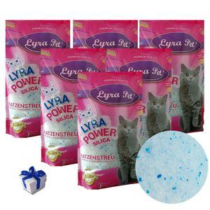 6 x 5 Liter Lyra Pet® Lyra Power Silicat  Silikat + Geschenk