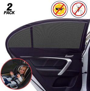 2x Sonnenschutz Rollo Seitenfenster Sonnenblende Für Autofenster Kinder Baby