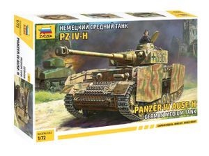 Zvezda 1:72 Panzer IV Ausf.H (Sd.Kfz.161/2)