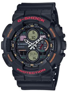 G-Shock Uhr GA-140-1A4ER schwarz Casio Armbanduhr