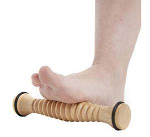 Fußmassagerolle aus Holz, Fußreflexzonen, Fußroller, effektive Fußmassage, Fußschmerzen