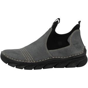 Rieker Damen Schuhe Stiefeletten Stiefel Keilabsatz 75064, Größe:39 EU, Farbe:Blau