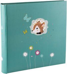 Babyalbum Foxy 30x30 cm blau