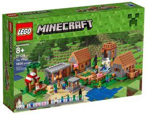 LEGO 21128 Minecraft Das Dorf The Village inkl. 4 Mini Figuren und 1600 Teile