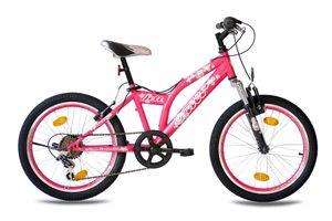20 Zoll Kinderrad MTB KCP JETT SF 6G SHIMANO Tourney pink