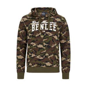 BENLEE Rocky Marciano Hoodie Sweatshirt Herren Camouflage-Woodland, Größe:L