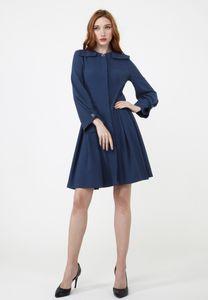 MadaM T Damen Blusenkleid Kleid Marcelina
