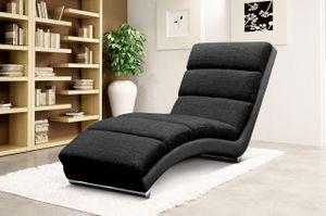 Mirjan24 Sessel Holiday Relaxsessel Liegesessel Relaxliege mit verchromte Füße Elegant Fernsehsessel Design Wohnzimmer (Soft 011 + Lawa 07)