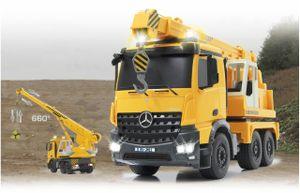 Jamara RC Mercedes Schwerlastkran Liebherr 1:20 Baufahrzeug 2,4 GHz Kran 405034