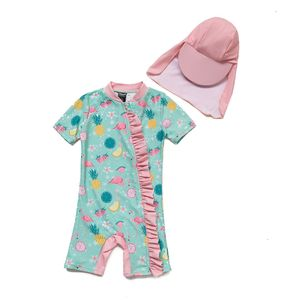 Bonverano UV Schutz UPF 50+ Mädchen Badeanzug 12-18 Monate