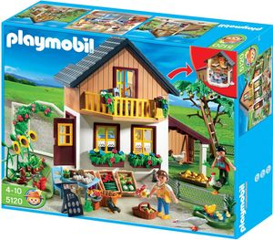 Playmobil Farm House with Market, 230 mm, 410 mm, 270 mm