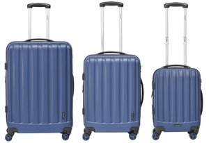 Packenger Kofferset 3er-Set Velvet