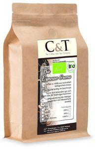 Espresso Crema | Cafe 1000 g ganze Bohnen im Kraftpapierbeutel