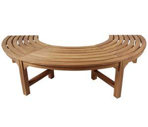 KMH® 180° Baumbank (Halbkreis) ohne Rückenlehne