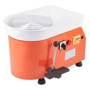 Crenex 250W 25CM Töpferscheibe Keramikmaschine Maschine Radmaschine Keramikhandwerk Clay Mit Hand-und-Fußpedal