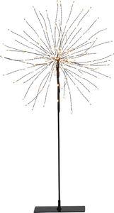Star Trading 710-02-1 3D Stern schwarz 120 LEDs Standstern 26x51cm Weihnachtsstern