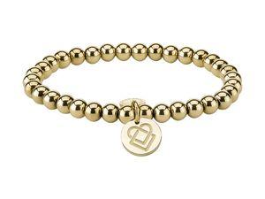 LIEBESKIND LJ-0072-B-17 Damen Armband Edelstahl Gold 17 cm