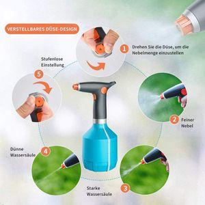 Elektrische Gießkanne, Indoor und Outdoor Handheld elektrische Sprühflasche Pflanze Blumensprühflasche