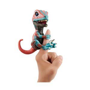 Red Raptor  Mutant Fingerlings Untamed interaktives Spielzeug Dinosaurier