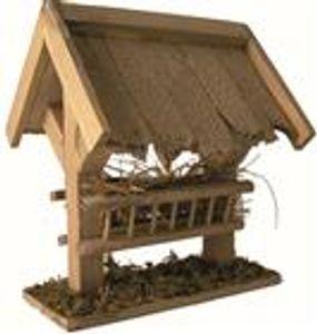 Krippenzubehör Futterstelle Futterkrippe mit Dach
