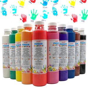 Fingermalfarbe 10er Set je 750 ml