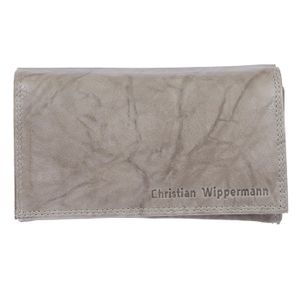 Christian Wippermann Damen Leder Geldbörse Geldbeutel Lang mit RFID Schutz inklusive Geschenkbox