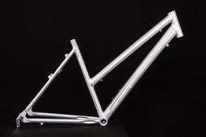 28 Zoll Alu Fahrrad Rahmen Damen Trekking City Bike Ketten Schaltung Rh 50cm roh unlackiert A-Head 1 1/8Zoll