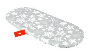 BABYLUX Spannbettlaken für Kinderwagen Spannbetttuch Bettlaken 96. Sternbild