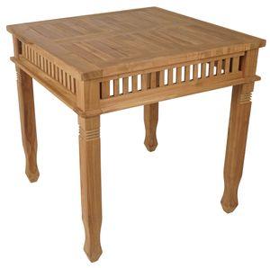 KMH®  Teak Tisch *Colonial* 80x80 cm